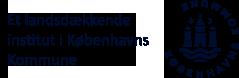 Københavns Kommunes logo med tekst 'Et landsdækkende institut i Københavns Kommune'