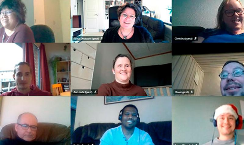 PEP-deltagere online på Teams