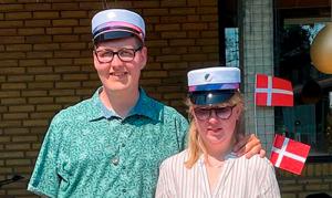 Julie og Loke til translokation